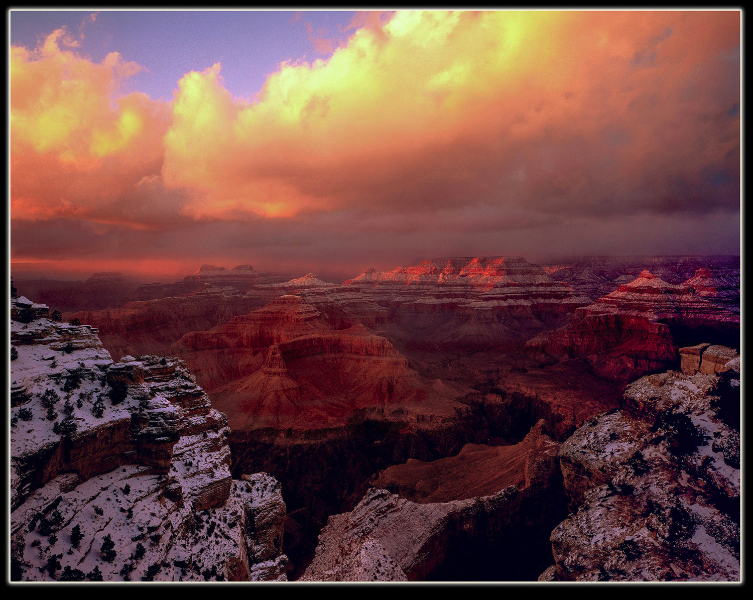 Kieffer KNS45_C2G Grand Canyon sunset